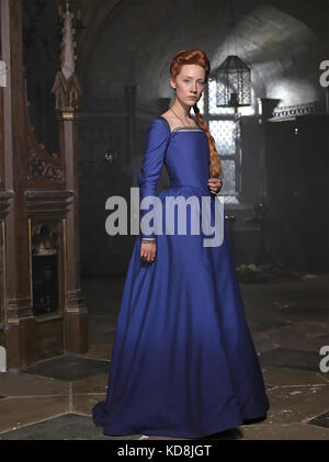 MARY QUEEN OF SCOTS 2018 Focus Features film with Saoirse Ronan - Stock Photo