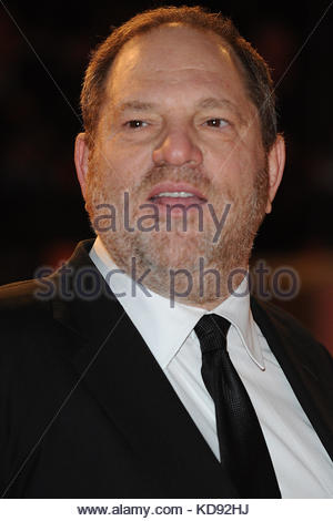 File photo dated 10/02/08 of Harvey Weinstein at the Orange British Academy Film Awards (BAFTAs) at the Royal Opera - Stock Photo