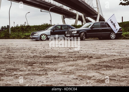 Old german mercedes benz car germany stock photo for Mercedes benz of st petersburg