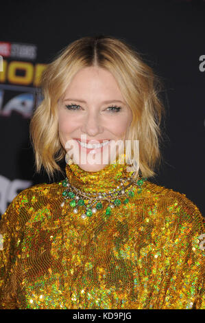 Los Angeles, California, USA. 10th Oct, 2017. October 10th 2017 - Los Angeles, California USA - Actress CATE BLANCHETT - Stock Photo