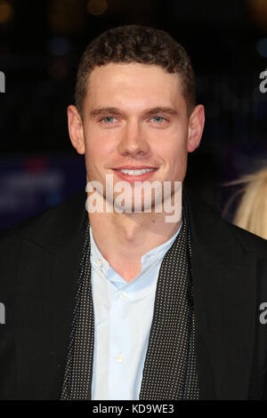 London, UK. 11th Oct, 2017. Tom Brittney, Film Stars Don't Die in Liverpool - BFI LFF European Premiere, Leicester - Stock Photo