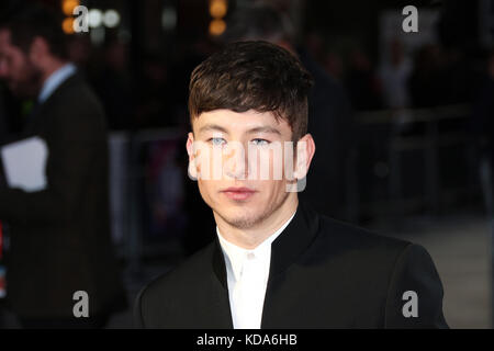 London, UK. 12th Oct, 2017. Barry Keoghan, The Killing of a Sacred Deer - BFI LFF UK premiere, Leicester Square, - Stock Photo