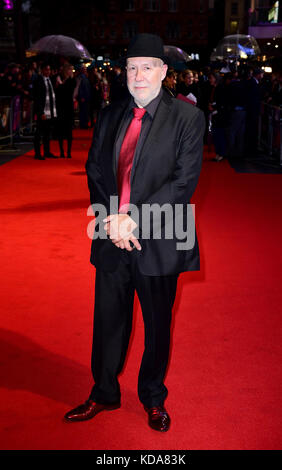 Colin Vaines attending the premiere of Film Stars Don't Die In Liverpool as part of the BFI London Film Festival, - Stock Photo