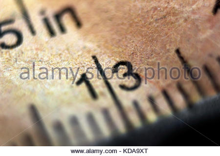 Tape measure close-up - Stock Photo