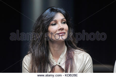 luisa corna at the presentation of the new album prometheus and pandora by sananda maitreya, formerly known as Terence - Stock Photo