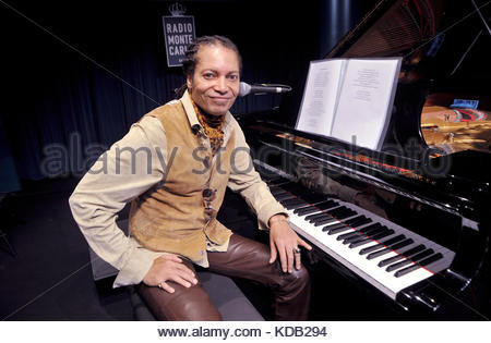 sananda maitreya, formerly known as Terence Trent D'Arby, presents new album prometheus and pandora, milan 11-10 - Stock Photo