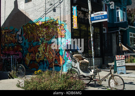 Kensington Place Toronto - Stock Photo