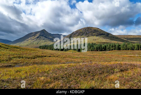 West Highland Way in Sc - Stock Photo