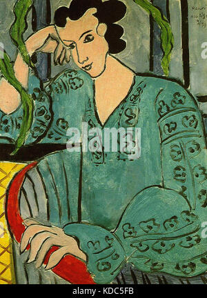 La blouse roumaine verte Matisse, Henri   1939 - Stock Photo