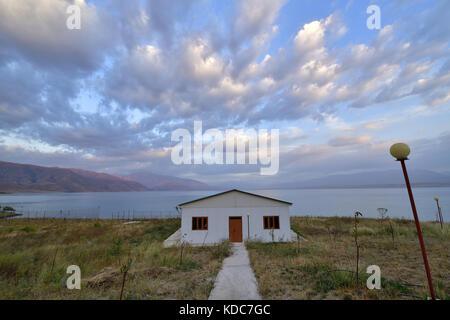 Teskey-Topok Pass,Kyrgyzstan, Central Asia - Stock Photo