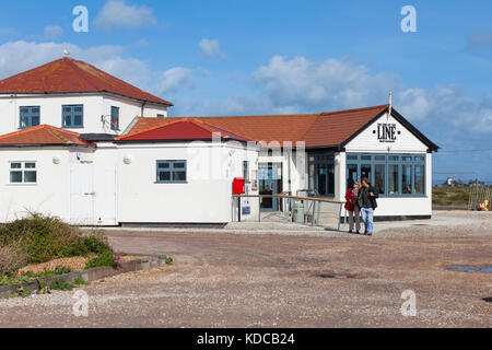 The end of the line restuarant in Dungeness, Kent, UK - Stock Photo