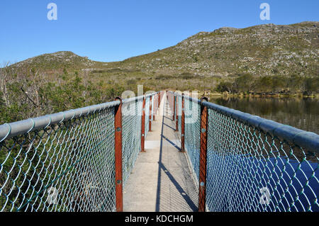 Silvermine Reservoir, Silvermine National Park, Cape Town, South Africa - Stock Photo