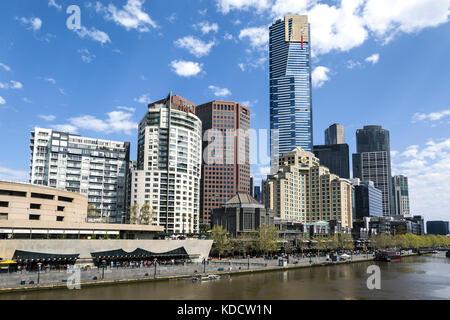 Southbank Melbourne Australia - Stock Photo