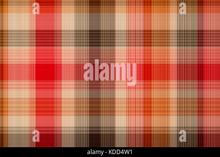 Seamless plaid fabric loincloth with stripes colorful abstract background pattern texture - Stock Photo