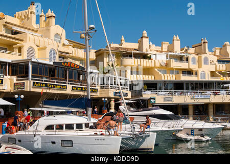 Puerto Marina, Yacht Harbour, Benalmadena. Málaga province, Costa del Sol, Andalusia. Southern Spain Europe - Stock Photo