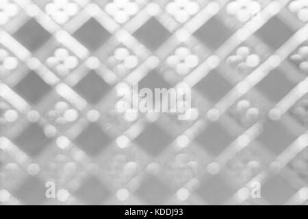 Glass texture with defocused pattern - Stock Photo