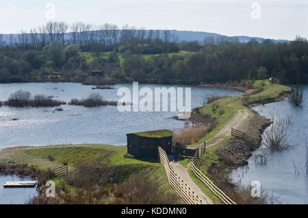 College Lake, Tring - Stock Photo