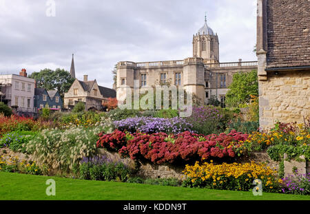 Oxford University Christ Church College From Broad Walk Oxford Stock Photo Royalty Free Image