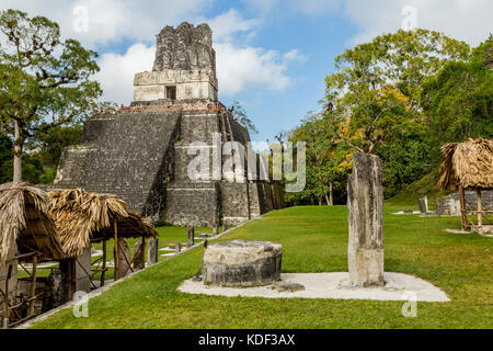 Tikal National Park , Guatemala - Stock Photo