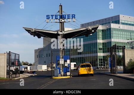 Brooklyn Navy Yard NYC - Stock Photo