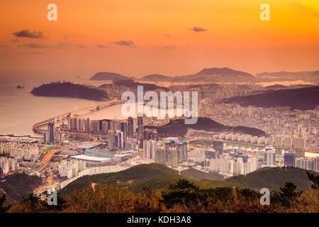 Busan, South Korea. - Stock Photo