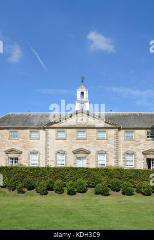 The Neoclassical Style Stable Block (1735) at Compton Verney House, Kineton, Warwickshire, England - Stock Photo
