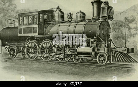 Locomotive engineering   a practical journal of railway motive power and rolling stock (1898) (14761259085) - Stock Photo