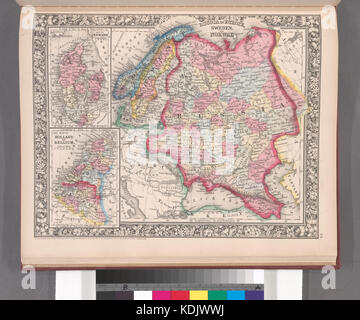 Old Map Of Denmark Norway And Sweden Focus Is On Denmark Map Is - Sweden belgium map