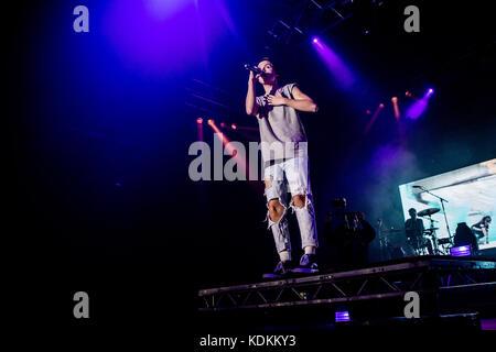 Milan, Italy. 13th October, 2017. Jacob Sartorius performs live at Alcatraz, Milano Credit: Mairo Cinquetti/Alamy - Stock Photo