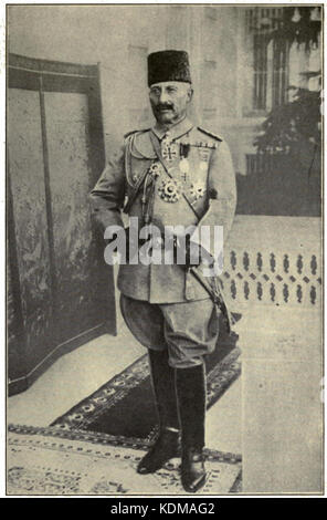 Kaiser Wilhelm II in the uniform of a Turkish Field Marshal - Stock Photo