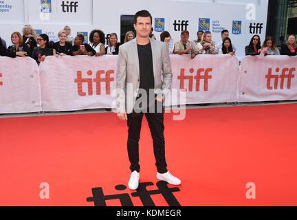 42nd Toronto International Film Festival - 'Mudbound' - Premiere  Featuring: Kyle Tekiela Where: Toronto, Canada - Stock Photo