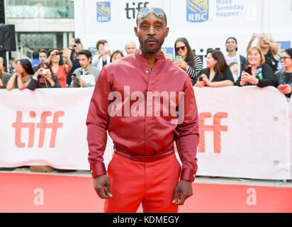 42nd Toronto International Film Festival - 'Mudbound' - Premiere  Featuring: Rob Morgan Where: Toronto, Canada When: - Stock Photo