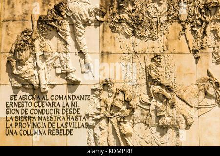 Ernesto Che Guevara Memorial,  Che Guevara Mausoleum, in Santa Clara, Cuba, Caribbean - Stock Photo