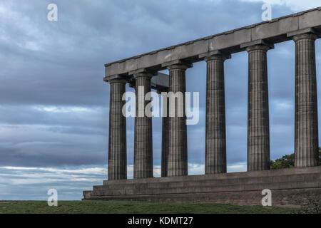 Calton Hill, Edinburgh, Lothian, Scotland, United Kingdom - Stock Photo