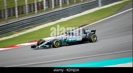 Petronas Team F1 at Sepang International Circuit