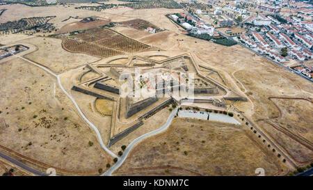 Forte de Santa Luzia, Elvas, Portugal - Stock Photo