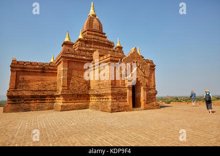 Pyathadar Paya (Temple), Bagan (Pagan), Myanmar (Burma), Southeast Asia - Stock Photo