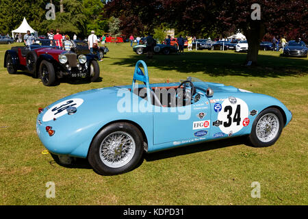 Wilton Classic & Supercar Show, Salisbury, Wiltshire, United Kingdom, 2015 - Stock Photo