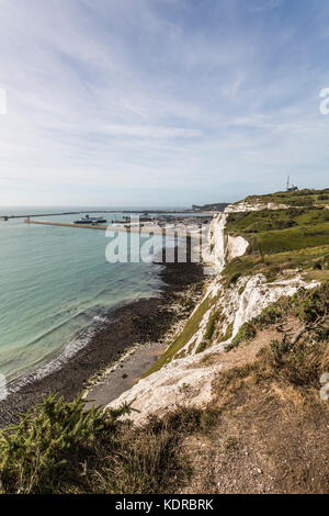 The White Cliffs of Dover - Stock Photo