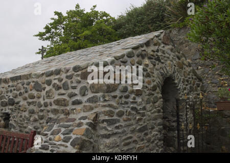 Saint Trillo's Chapel in Rhos on Sea - Stock Photo