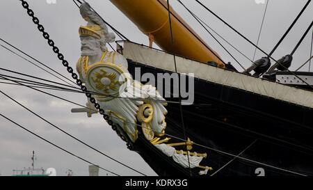 Figurehead of the HMS Warrior 1860 - Stock Photo