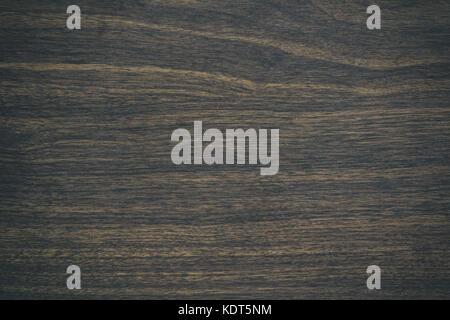 Vintage surface wood table and rustic grain texture background. Close up of dark rustic wall made of old wood table - Stock Photo