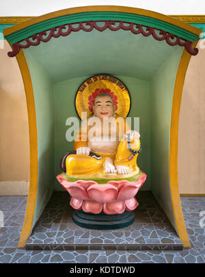 Statue of Nam Mo Di Lac Ton Phat At Quoc Tu Pagoda In Ho Chi Minh City, Vietnam - Stock Photo