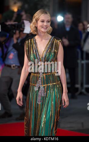 'Mudbound' European Premiere - 61st BFI London Film Festival - Stock Photo
