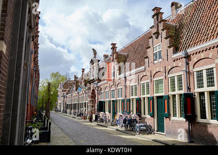 Exterior of Frans Hals Museum in Haarlem, Netherlands - Stock Photo