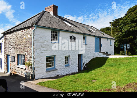Tregwynt Woollen Mill, Wales, UK - Stock Photo
