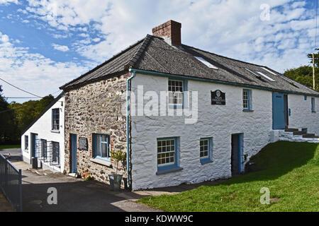 Tregwynt Woollen Mill, Wales, UK - Stock Photo