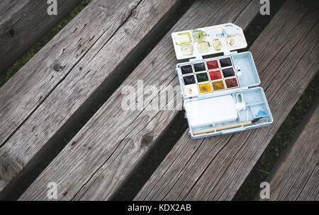 palette - Stock Photo