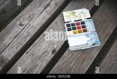 palette - Stock Photo