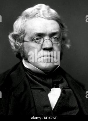 William Makepeace Thackeray, British novelist, writer and author. William Makepeace Thackeray - Stock Photo